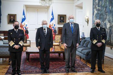 Presidente Piñera designa a Juan Andrés De La Maza Larraín como nuevo Comandante en Jefe de la Armada