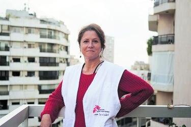 Una chilena en zona de conflicto