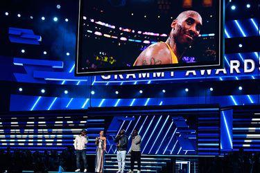 Los Grammy abrazan a la nueva era y a Kobe Bryant