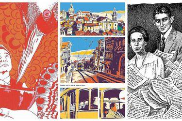 Narradores e ilustrados: Bolaño, Borges y Murakami al formato gráfico