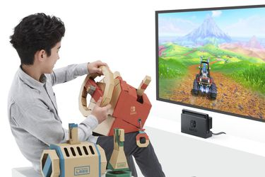 Nintendo Labo anuncia su Vehicle Kit
