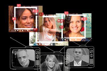 Influencers vs rostros de TV: la amenaza fantasma