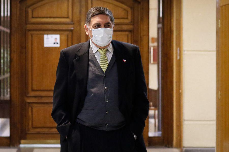 Ministro de la Segpres, Claudio Alvarado