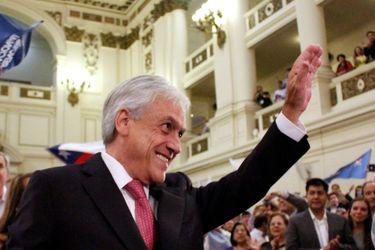 Renovación Nacional proclama a Sebastian Piñera