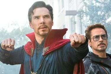 Doctor Strange luce la armadura de Iron Man en nueva foto de Avengers: Infinity War