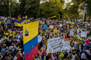 De España a Chile: Colombianos en el mundo se suman a las protestas sociales contra el gobierno de Duque