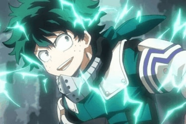 Deku libera un nuevo poder en el manga de My Hero Academia