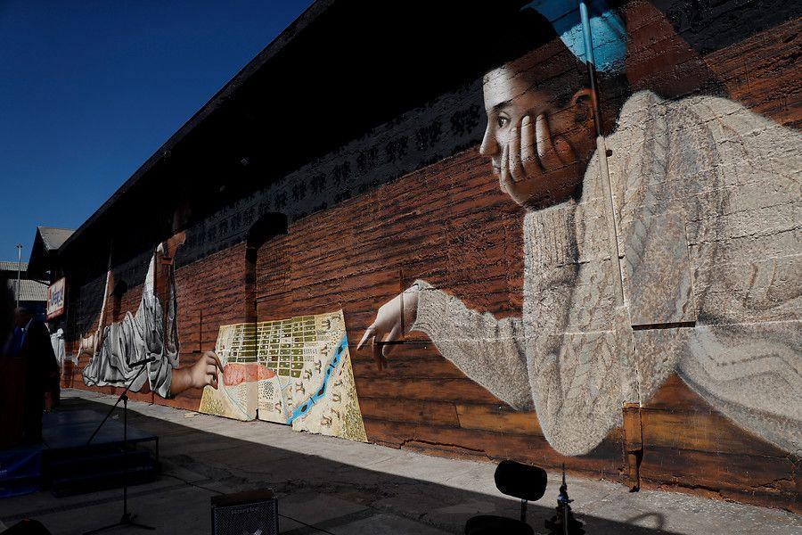 Mural barrio Franklin