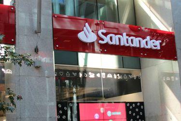Banco Santander anota pérdidas históricas tras reconocer deterioro en goodwill