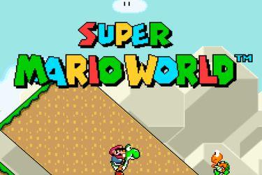 El nuevo proyecto de un hacker permite jugar Super Mario World en pantalla completa