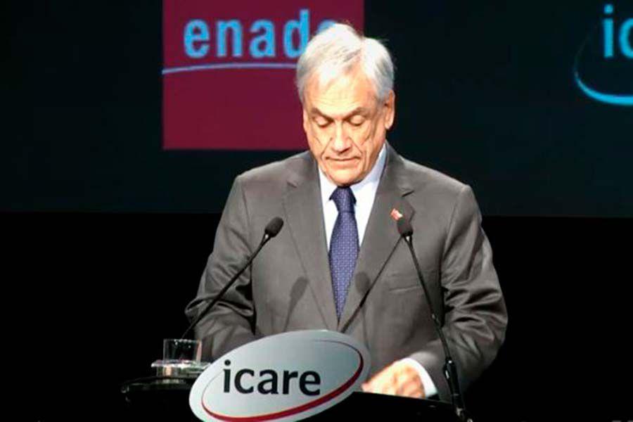 El Presidente de la República, Sebastián Piñera.