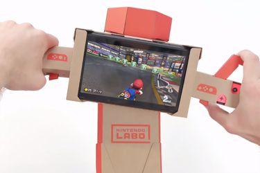 Mario Kart 8 Deluxe ahora es compatible con Nintendo Labo