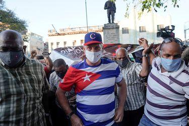 """Cuba acusa a EE.UU. de """"provocación"""" al apoyar protestas de artistas"""