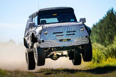 Ford ya trabaja en un Bronco todavía más radical