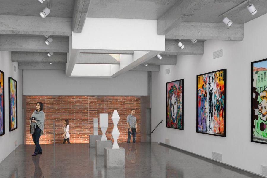 Proyecto nuevo Museo de los Tajamares