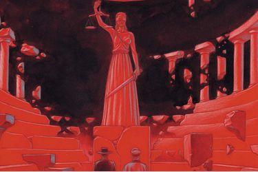 Los Fantasmas de Pinochet: la novela gráfica de Francisco Ortega y Félix Vega que lleva a juicio al ex general
