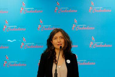 Valentina Quiroga deja el cargo de directora ejecutiva de la Fundación Horizonte Ciudadano, de la expresidenta Bachelet