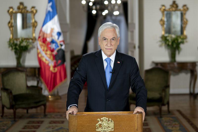 Sebastián Piñera presenta el Presupuesto 2022