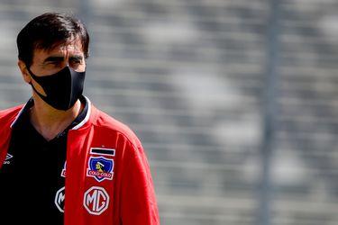 El entrenador de Colo Colo, Gustavo Quinteros, cree que la mejor versión de su equipo se verá en el segundo semestre.