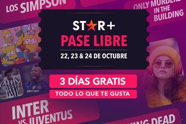 Star+ ofrecerá tres días gratis para sus nuevos suscriptores durante este fin de semana