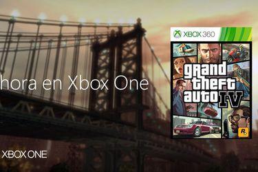 Grand Theft Auto IV ahora disponible en Xbox One