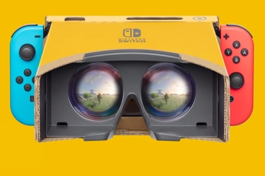 Super Mario Odyssey y Zelda: Breath of the Wild se suman a la realida virtual con Nintendo Labo