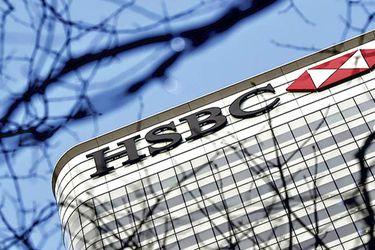 Acciones de HSBC se desploman a su menor nivel en 25 años tras filtración sobre posibles movimientos de fondos ilícitos
