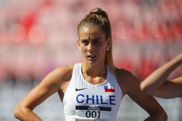 Isidora Jiménez bate récord de Chile y se mete en la final de los 100 metros