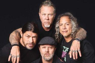 Vía Zoom: Metallica prepara nuevo disco en el confinamiento