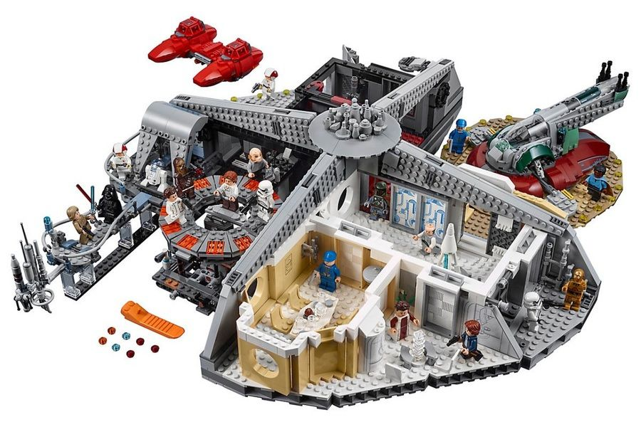 cloud city lego 6