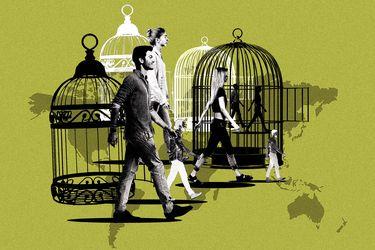 Chilenos desconfinados cuentan cómo han vivido la reapertura en el mundo