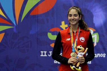 Katina Proestakis clasifica a los Juegos Olímpicos y Chile logra cifra récord de representación