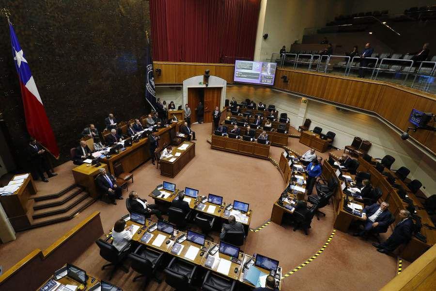 Sesion especial del Senado. 21/10/2019