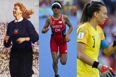 16 mujeres destacadas del deporte chileno