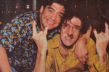 """La carta con que Charly García despidió a Maradona: """"Espérame ahí... invita la casa"""""""