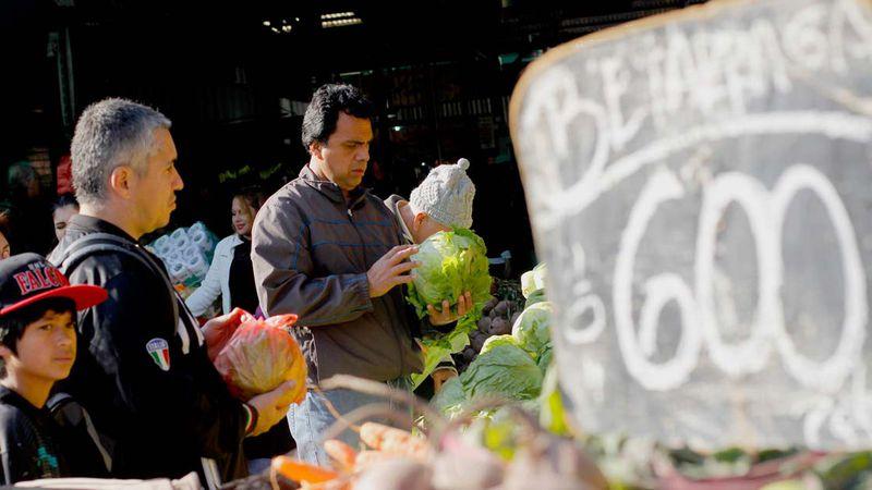 Alimentos, feria, verduras