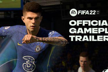 FIFA 22 presenta su gameplay de la mano del nuevo tráiler