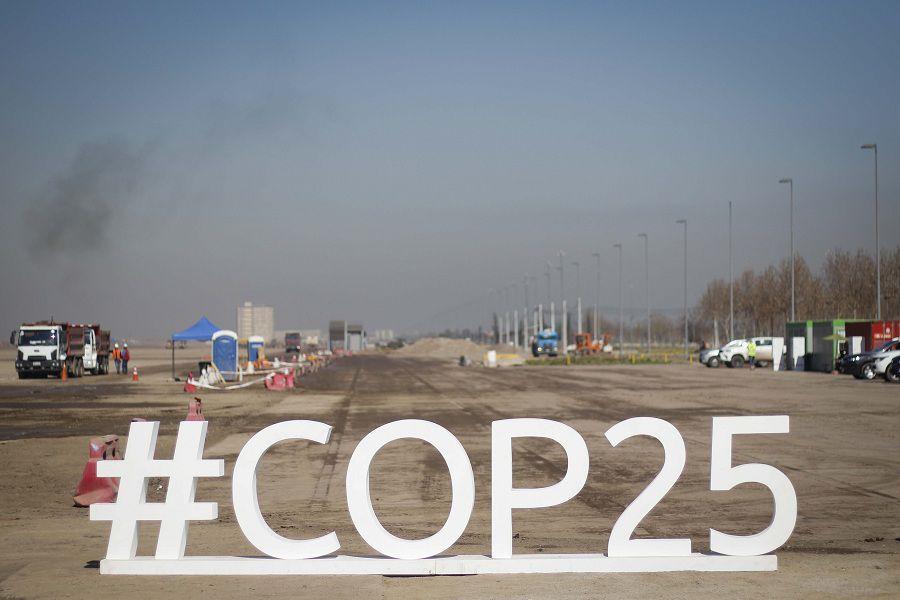 El ministro de Obras Publicas supervisa en terreno las obras de la COP25