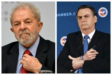 Collage Lula Bolsonaro