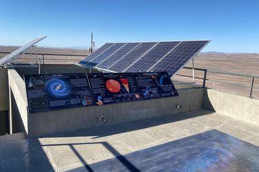 Finaliza construcción de Centro de Observación en la mayor planta solar de América Latina