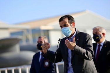 """Ministro Delgado afirma que """"sin Estado de Catástrofe se cae el plan Paso a Paso"""""""