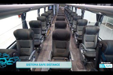 La pandemia también cambia la manera de viajar en bus, y esta es la alternativa de Marcopolo