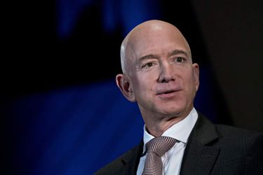 Amazon CEO Jeff Bezos Speaks At Economic Club Of Washington Dinner