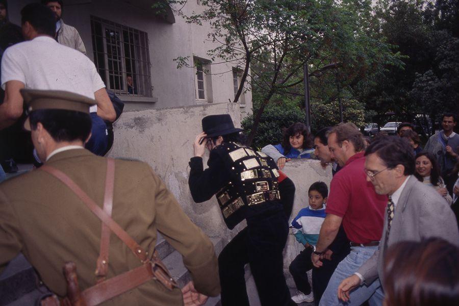 MICHAEL JACKSON EN CHILE 1993
