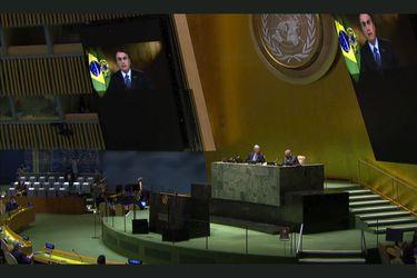 Bolsonaro denuncia en la Asamblea General de la  ONU campaña de desinformación sobre la Amazonía
