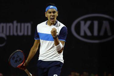 Alejandro Tabilo gana en dos sets en su debut en el ATP de Santiago