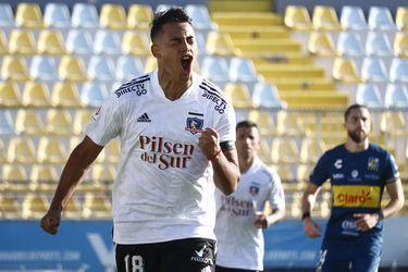 Morales guía ante Everton a un Colo Colo que mejora y juega bien