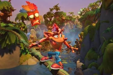 Un nuevo nivel de Crash Bandicoot 4 en este nuevo adelanto del juego