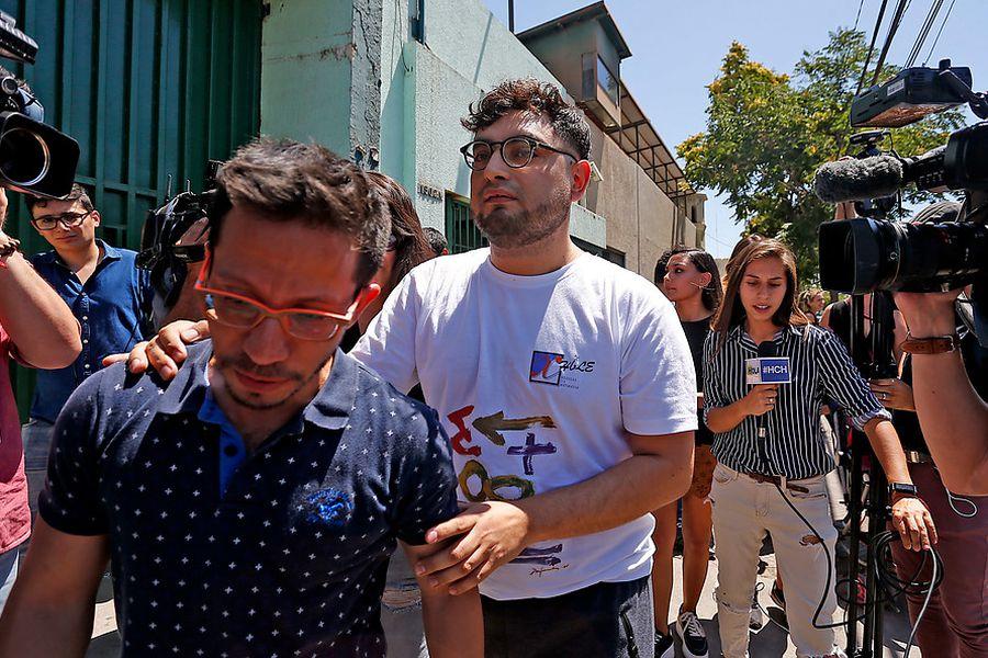 En libertad quedo el profesor Roberto Campos,tras estar 53 días en prision preventiva.
