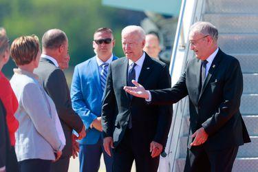 Biden llega a Ginebra de cara a la cumbre que sostendrá con Putin